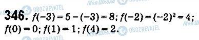 ГДЗ Алгебра 9 класс страница 346