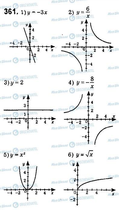ГДЗ Алгебра 9 класс страница 361