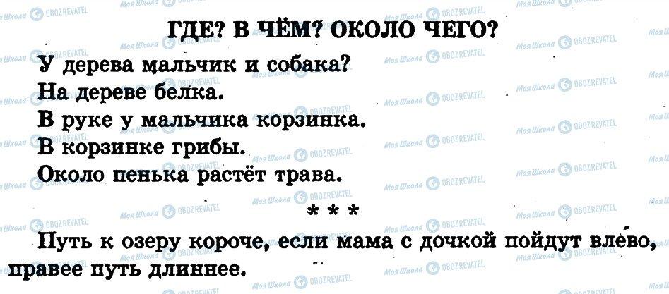 ГДЗ Русский язык 1 класс страница страница80