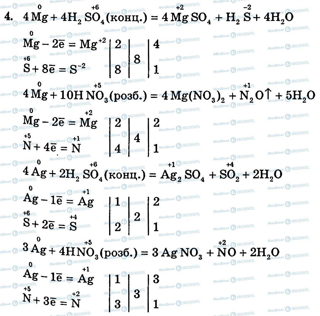ГДЗ Хімія 10 клас сторінка 4