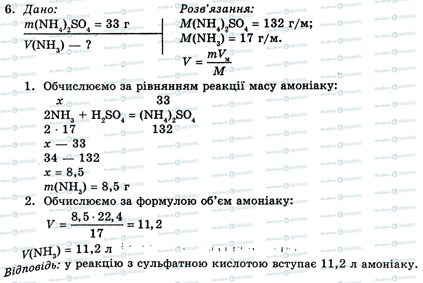ГДЗ Хімія 10 клас сторінка 6