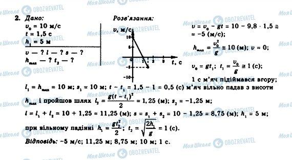 ГДЗ Физика 10 класс страница 2