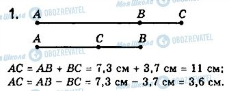 ГДЗ Геометрия 7 класс страница 1