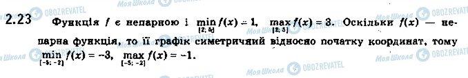 ГДЗ Алгебра 10 класс страница 23