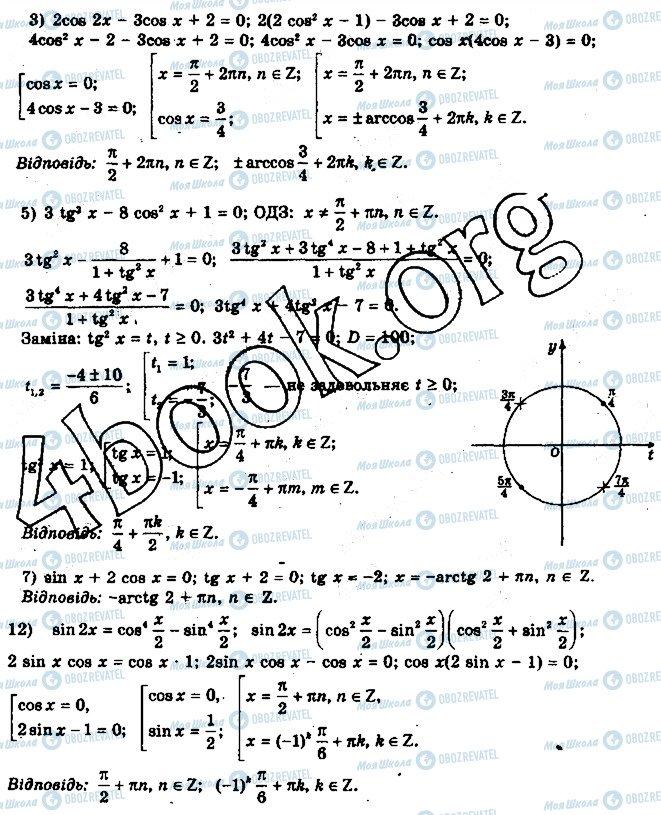 ГДЗ Математика 10 клас сторінка 29