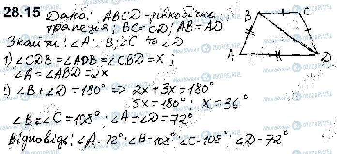 ГДЗ Математика 10 клас сторінка 15