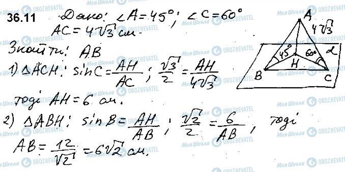 ГДЗ Математика 10 класс страница 11