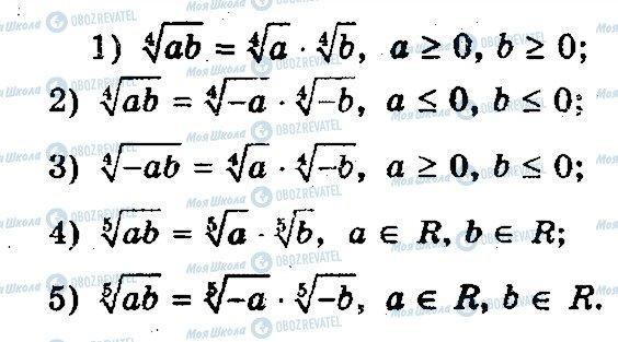 ГДЗ Математика 10 класс страница 19