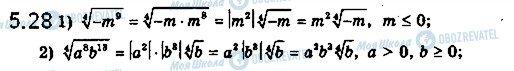 ГДЗ Математика 10 класс страница 28
