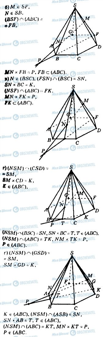 ГДЗ Геометрія 10 клас сторінка 84
