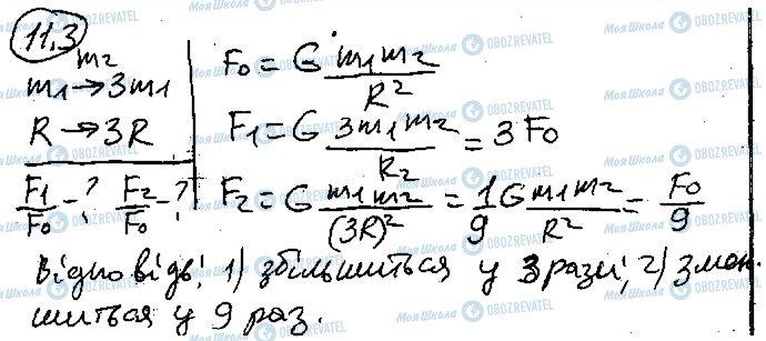 ГДЗ Фізика 10 клас сторінка 3