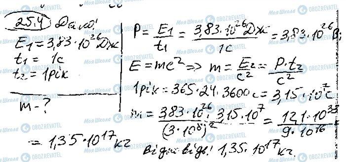 ГДЗ Фізика 10 клас сторінка 4