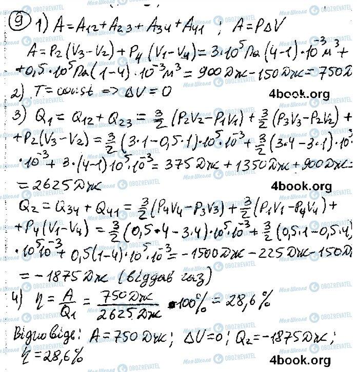 ГДЗ Фізика 10 клас сторінка 9