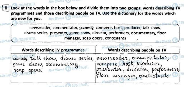 ГДЗ Англійська мова 5 клас сторінка p44ex1