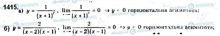 ГДЗ Алгебра 10 класс страница 1415
