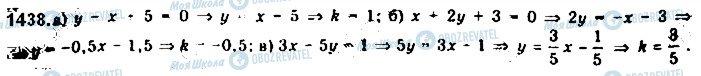 ГДЗ Алгебра 10 класс страница 1438