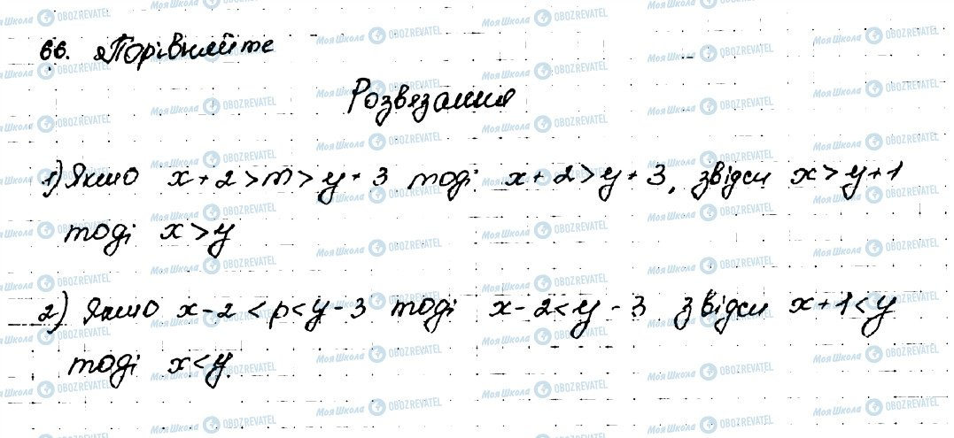 ГДЗ Алгебра 9 клас сторінка 66
