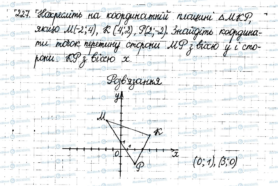 ГДЗ Математика 6 класс страница 227