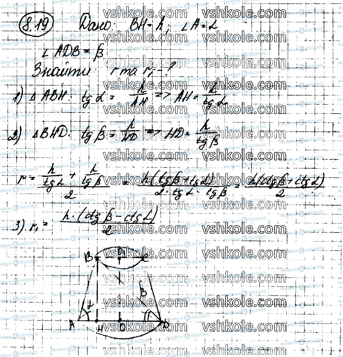 ГДЗ Геометрия 11 класс страница 19