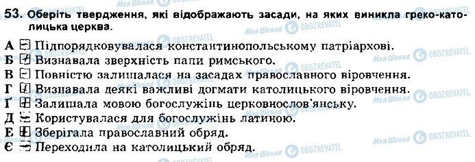 ГДЗ История Украины 8 класс страница 53