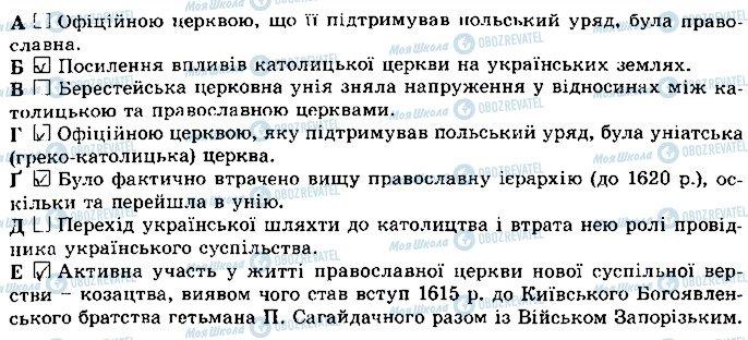 ГДЗ Історія України 8 клас сторінка 70