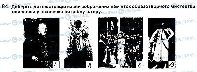 ГДЗ История Украины 8 класс страница 84