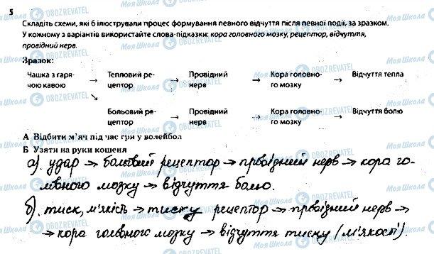 ГДЗ Биология 8 класс страница 5