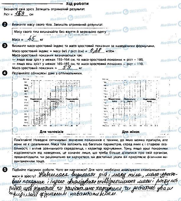 ГДЗ Біологія 8 клас сторінка 12