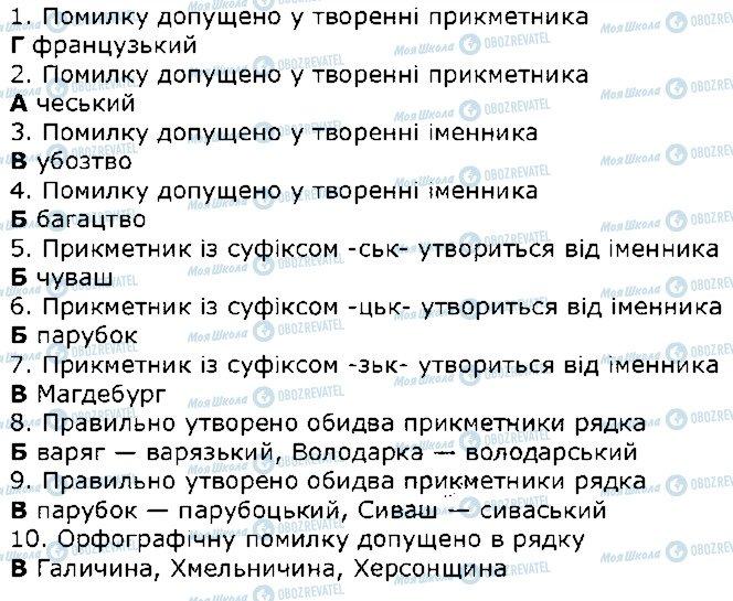 ГДЗ Українська мова 10 клас сторінка 5