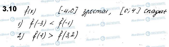 ГДЗ Алгебра 10 класс страница 10