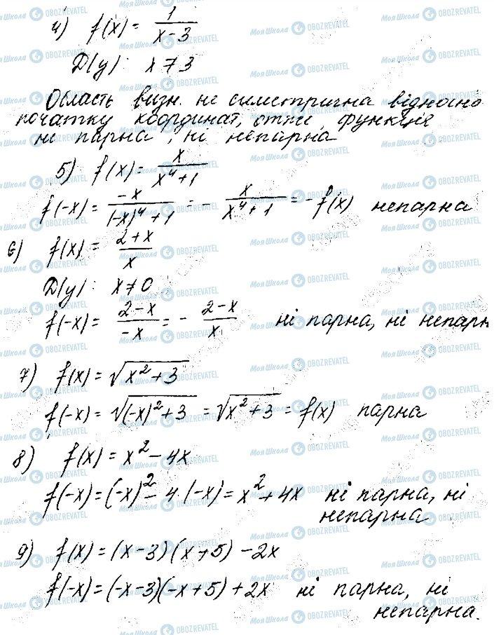 ГДЗ Алгебра 10 клас сторінка 26