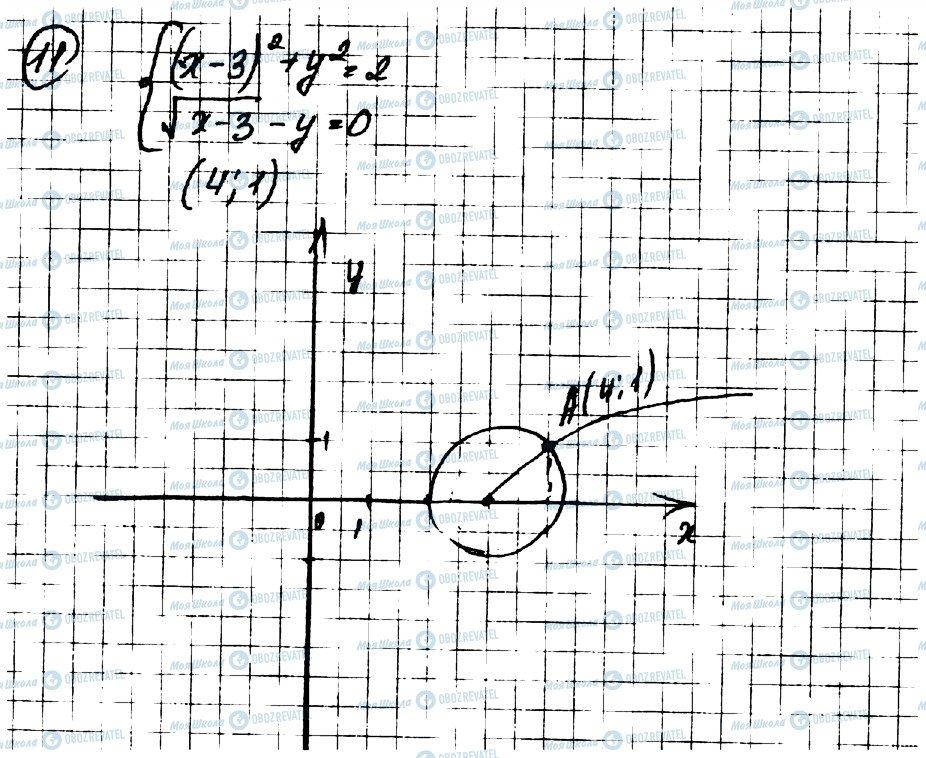 ГДЗ Алгебра 9 класс страница 11