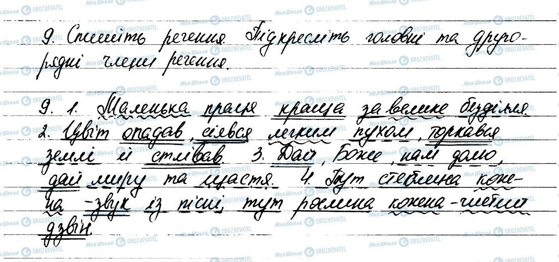 ГДЗ Українська мова 6 клас сторінка 9