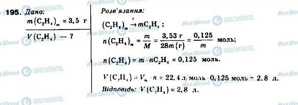 ГДЗ Химия 9 класс страница 195