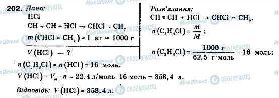ГДЗ Химия 9 класс страница 202