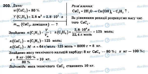 ГДЗ Химия 9 класс страница 203