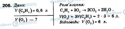 ГДЗ Химия 9 класс страница 206