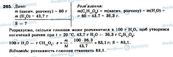 ГДЗ Химия 9 класс страница 265