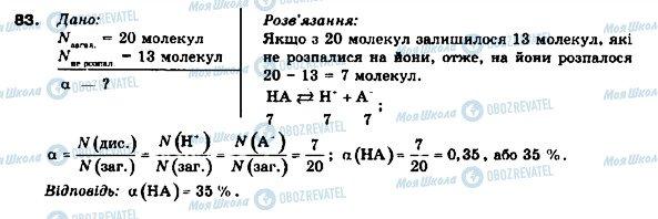 ГДЗ Химия 9 класс страница 83