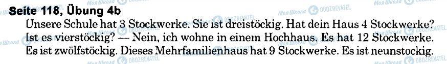 ГДЗ Немецкий язык 6 класс страница s118u4(b)