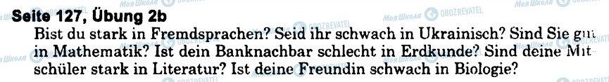 ГДЗ Немецкий язык 6 класс страница s127u2(b)