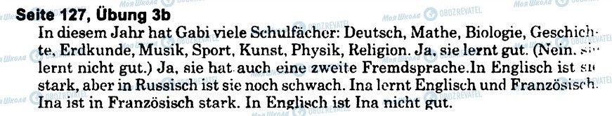 ГДЗ Немецкий язык 6 класс страница s127u3(b)