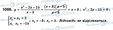 ГДЗ Алгебра 8 класс страница 1066
