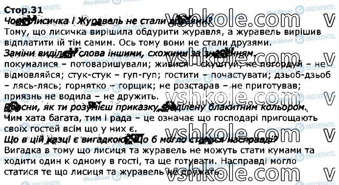 ГДЗ Українська мова 2 клас сторінка стор31