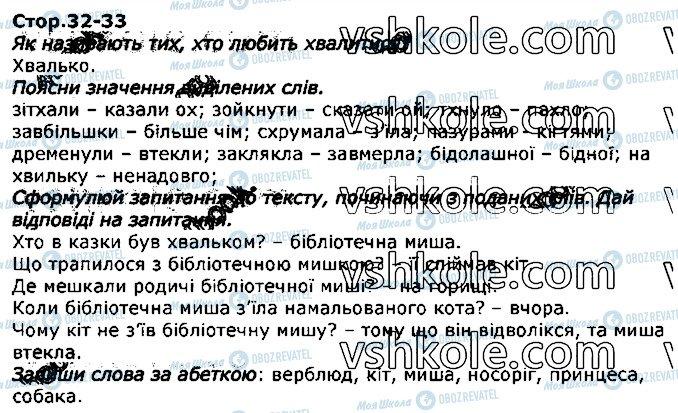 ГДЗ Укр мова 2 класс страница стор32