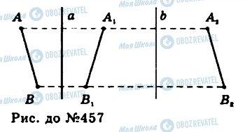 ГДЗ Геометрія 11 клас сторінка 457
