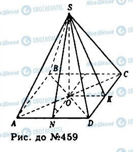 ГДЗ Геометрія 11 клас сторінка 459