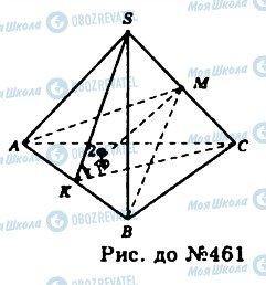 ГДЗ Геометрія 11 клас сторінка 461