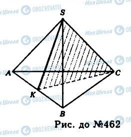 ГДЗ Геометрія 11 клас сторінка 462