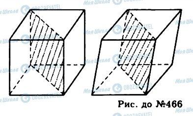 ГДЗ Геометрія 11 клас сторінка 466